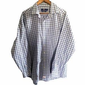 Vineyard Vines Classic Fit Murray Shirt Blue Pink